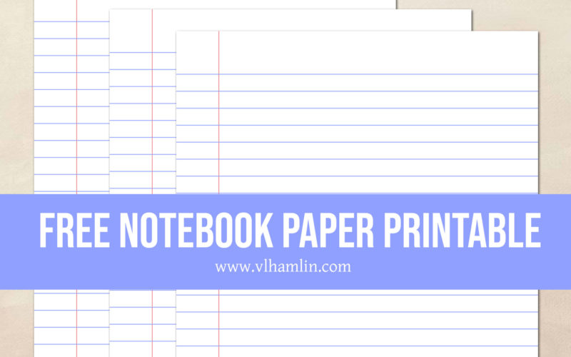 photo regarding Notebook Printable called Absolutely free Printable Laptop Paper: Fantastic for Higher education Seek the services of - Food items