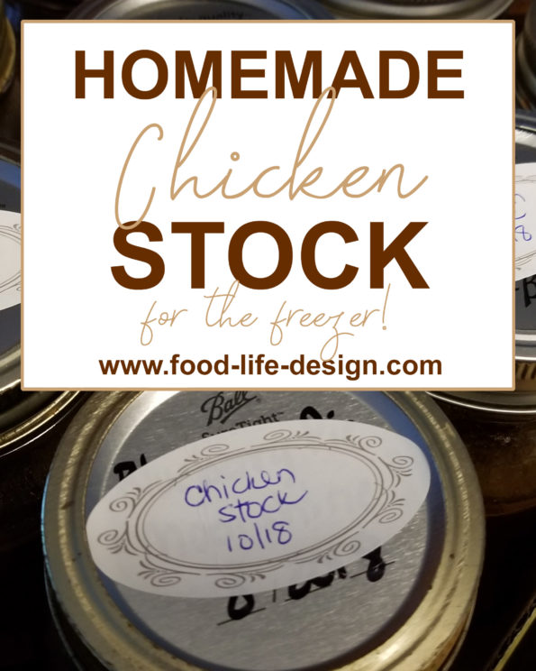 How to Make Homemade Chicken Stock for the Freezer | Food Life Design