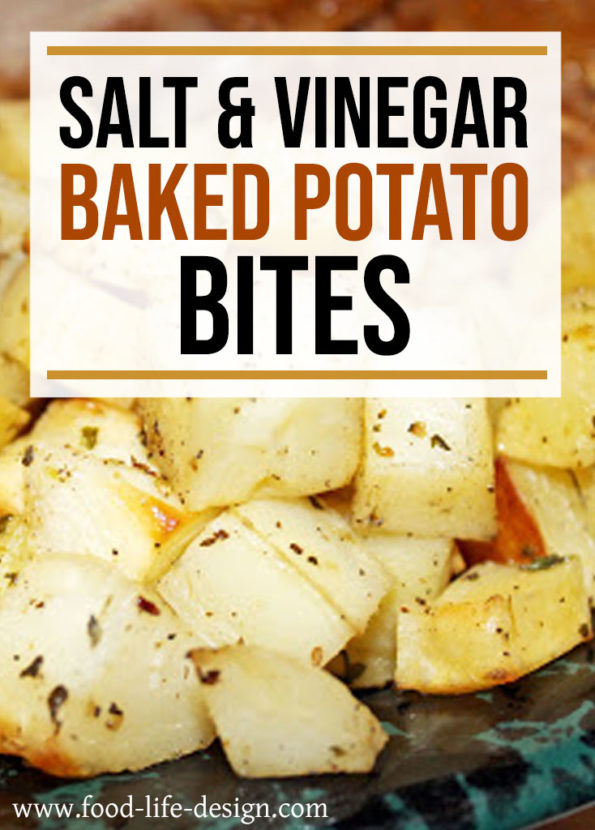 Salt and Vinegar Baked Potato Bites Recipe | Food Life Design