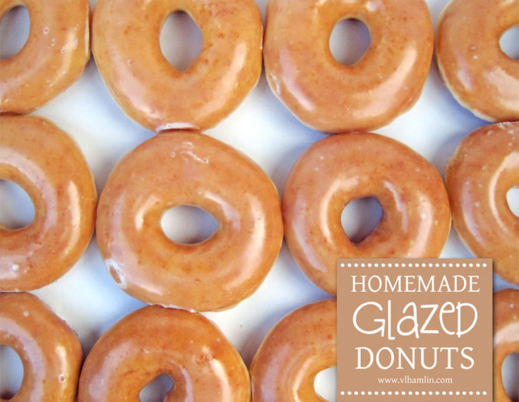 Homemade Glazed Donuts with Just 5 Ingredients