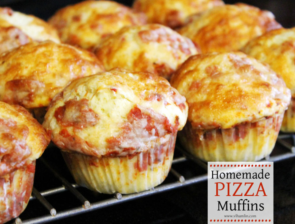 Homemade Pizza Muffins 4