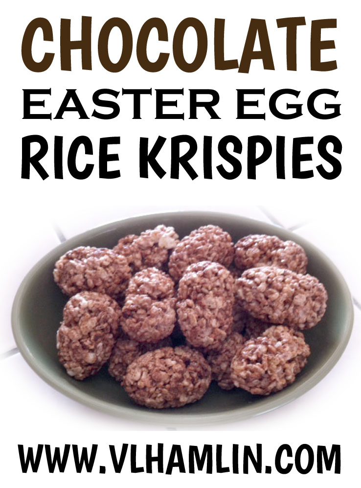 Chocolate Easter Egg Rice Krispies