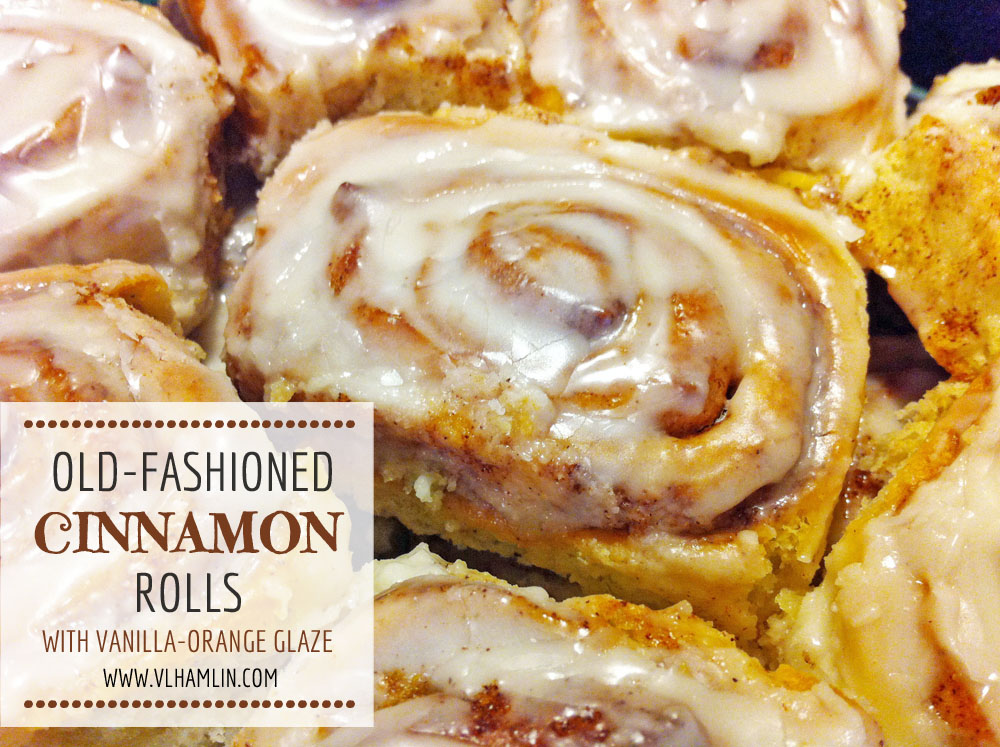 Old-Fashioned Cinnamon Rolls with Vanilla-Orange Glaze 4