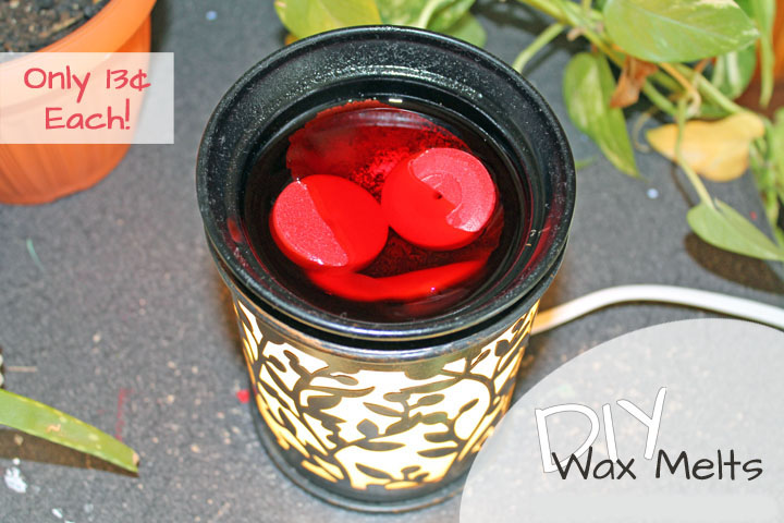 DIY Wax Melts for Pennies - Food Life Design