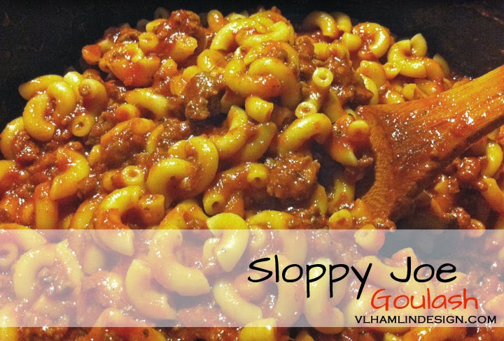 Sloppy Joe Goulash Recipe