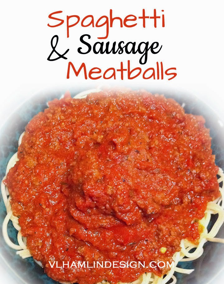 Spaghetti & Sausage Meatballs