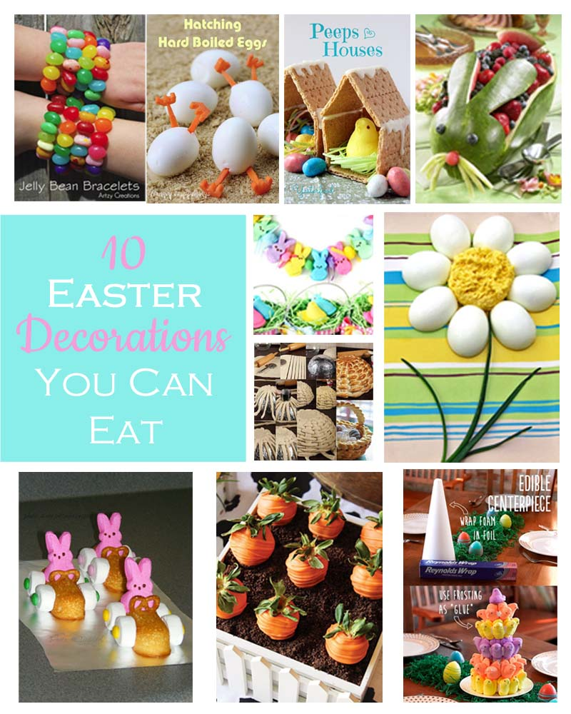 10 Easter Decorations You Can Eat