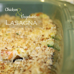 Chicken and Vegetable Lasagna 2
