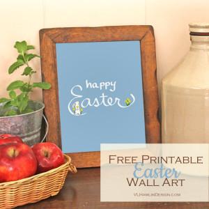 Free Printable Easter Wall Art 2 - 2015