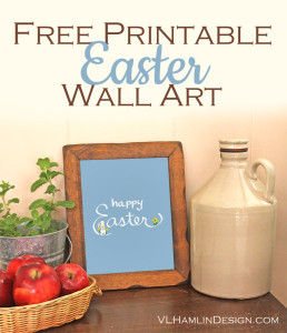 Free Printable Easter Wall Art - 2015