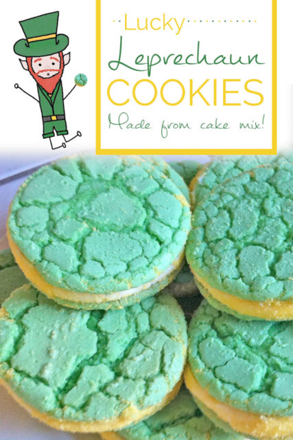 Lucky Leprechaun Cookies Recipe - Food Life Design