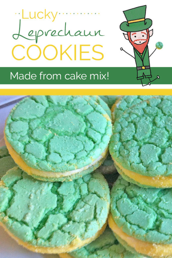Lucky Leprechaun Cookies for St Patricks Day - Food Life Design