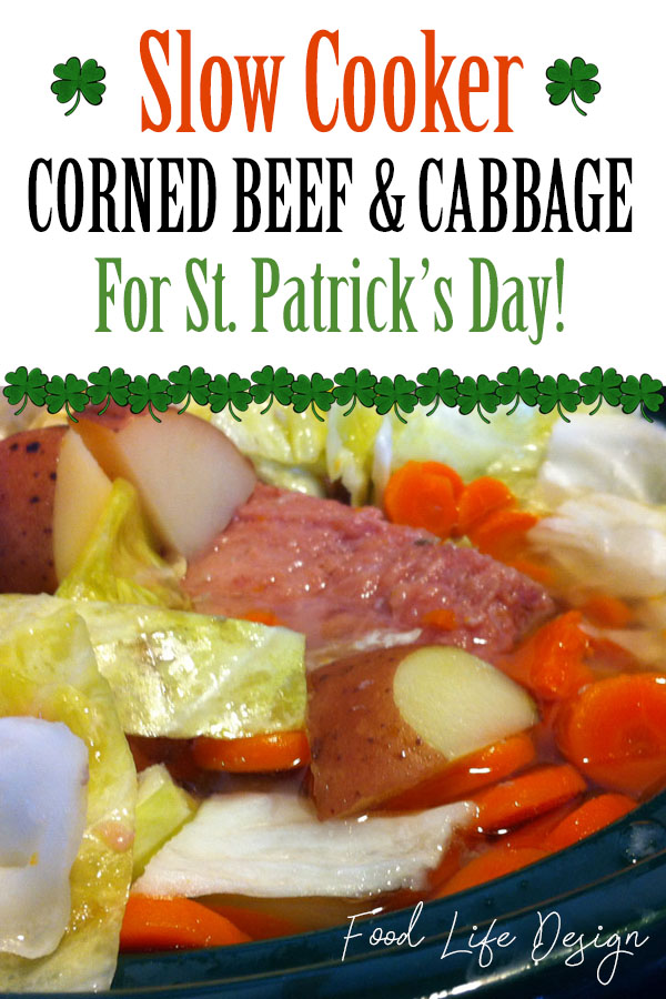 Slow Cooker Corned Beef and Cabbage Recipe - Food Life Design