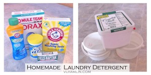 Homemade Laundry Detergent Ingredients