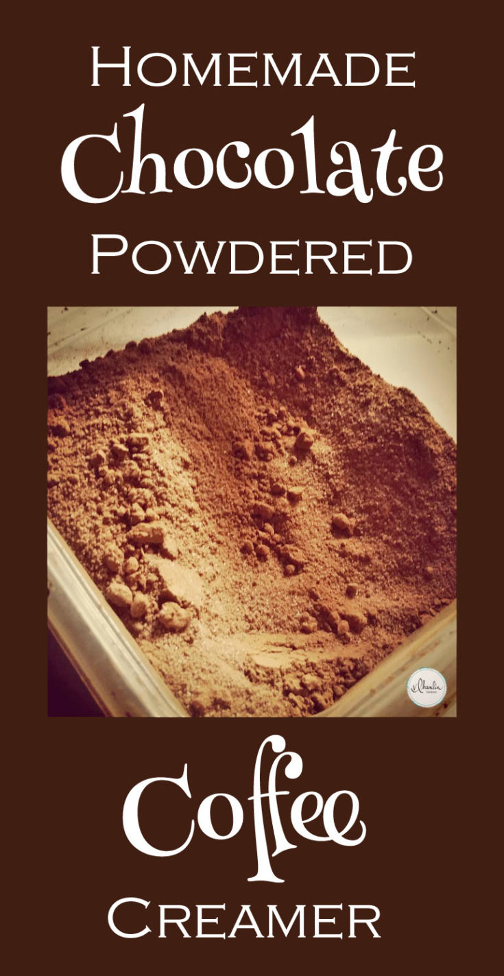 Homemade Chocolate Powdered Coffee Creamer