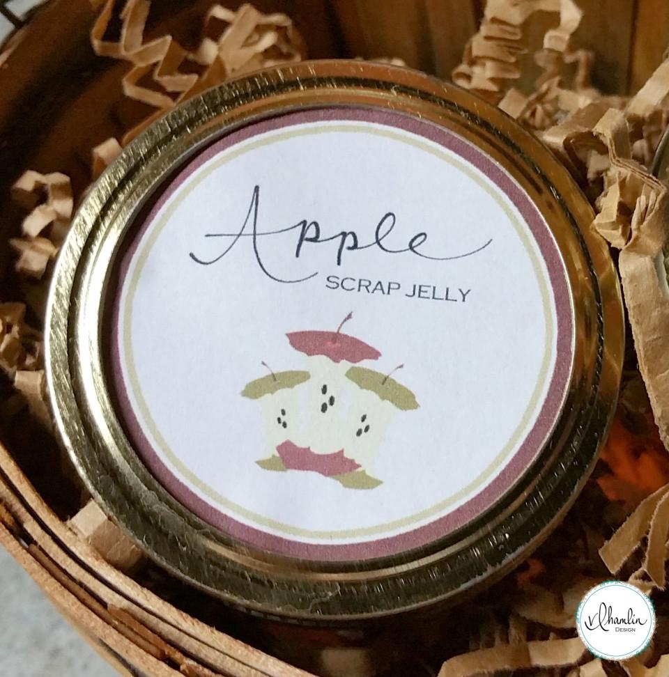 Apple Scrap Jelly