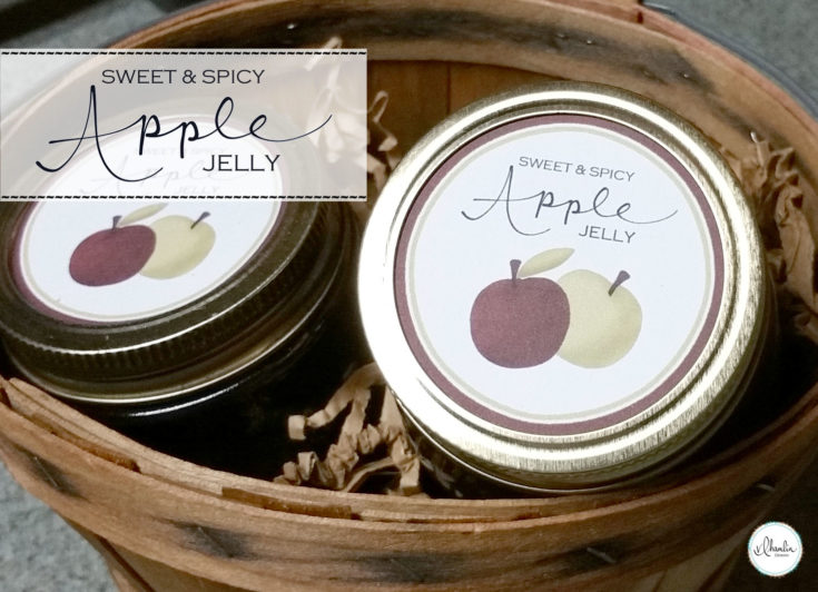 Sweet and Spicy Apple Jelly