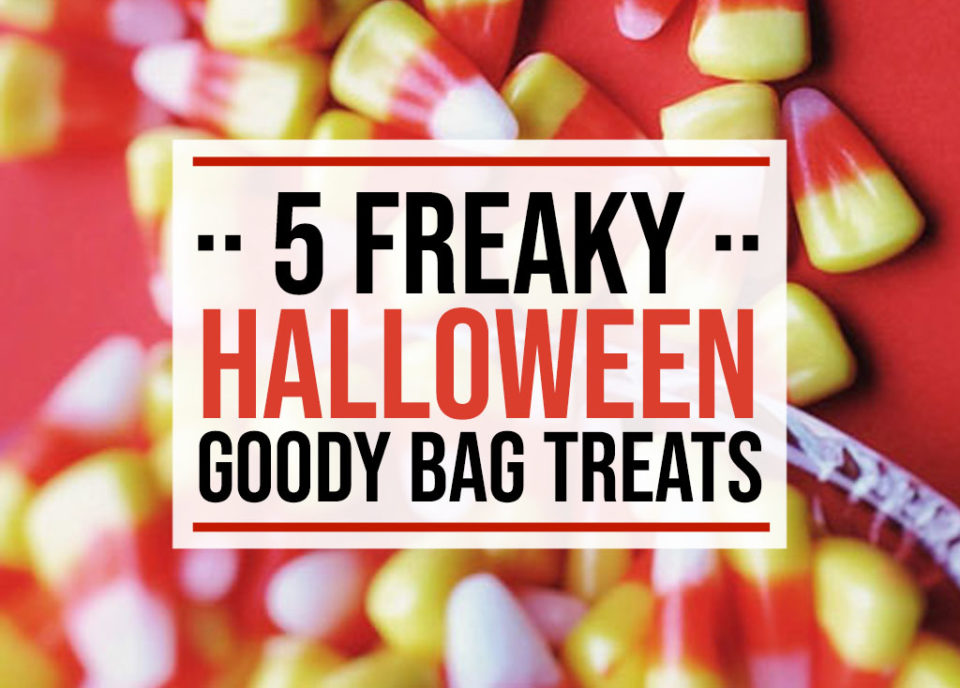 5 Halloween Goody Bag Treats - Food Life Design
