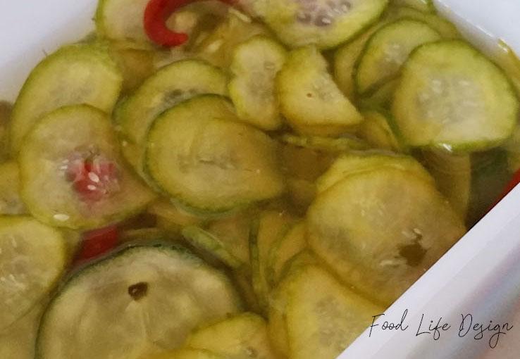 Easy Refrigerator Pickles - Food Life Design