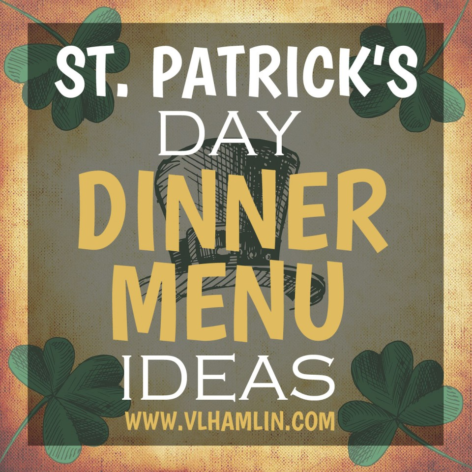 ST PATRICKS DAY MENU