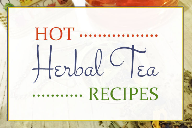 Hot Herbal Tea Mix Recipes for Every Day