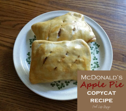 McDonalds Apple Pie Copycat Recipe - Food Life Design