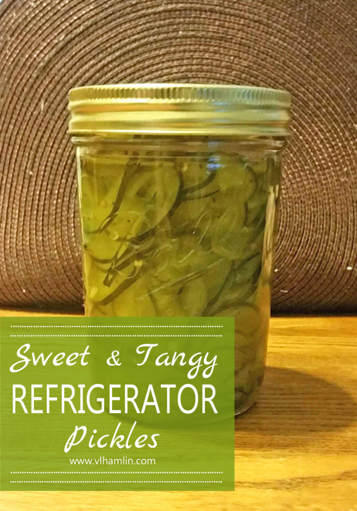 Sweet & Tangy Refrigerator Pickles