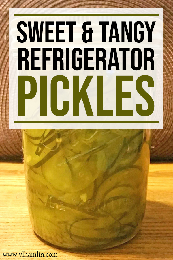Sweet and Tangy Refrigerator Pickles Recipe