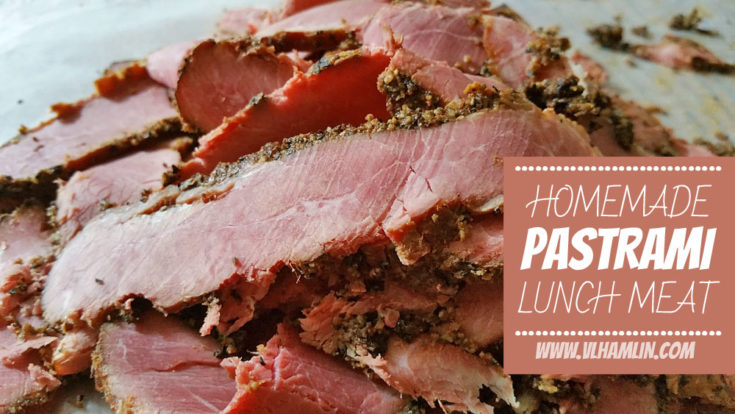 Homemade Pastrami Lunch Meat