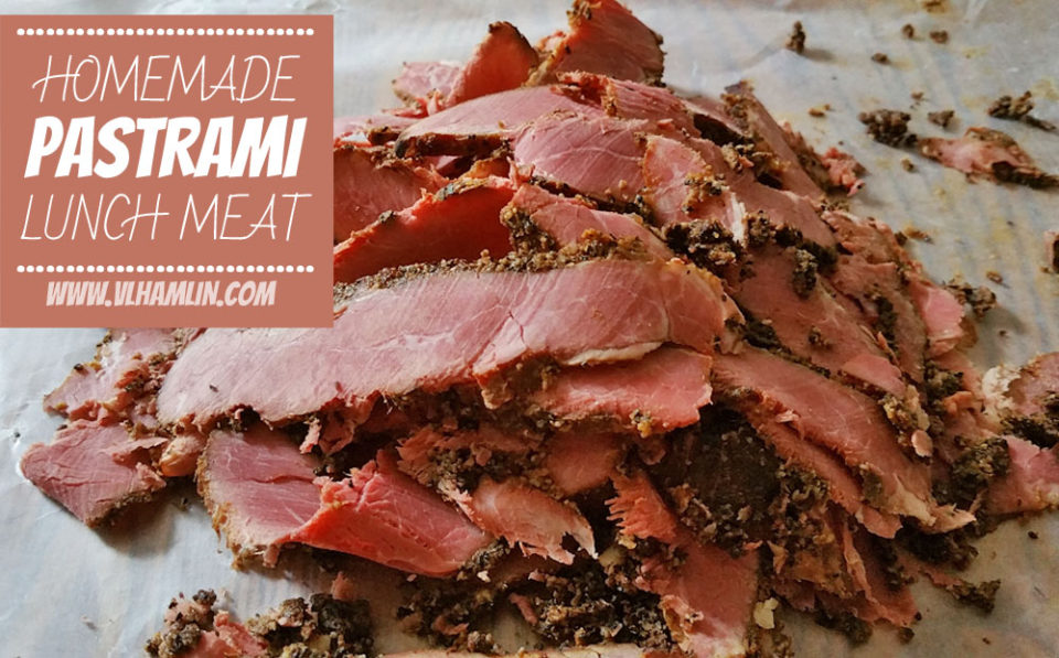 Homemade Pastrami Lunch Meat 3