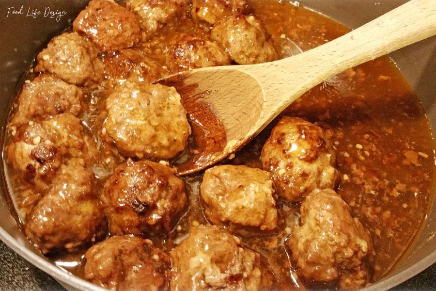 Homemade Spicy Hawaiian Meatballs