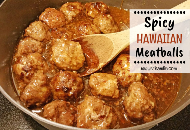 Spicy Hawaiian Meatballs 3