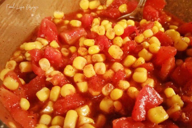 Make Your Own Corn Salsa - Food Life Design