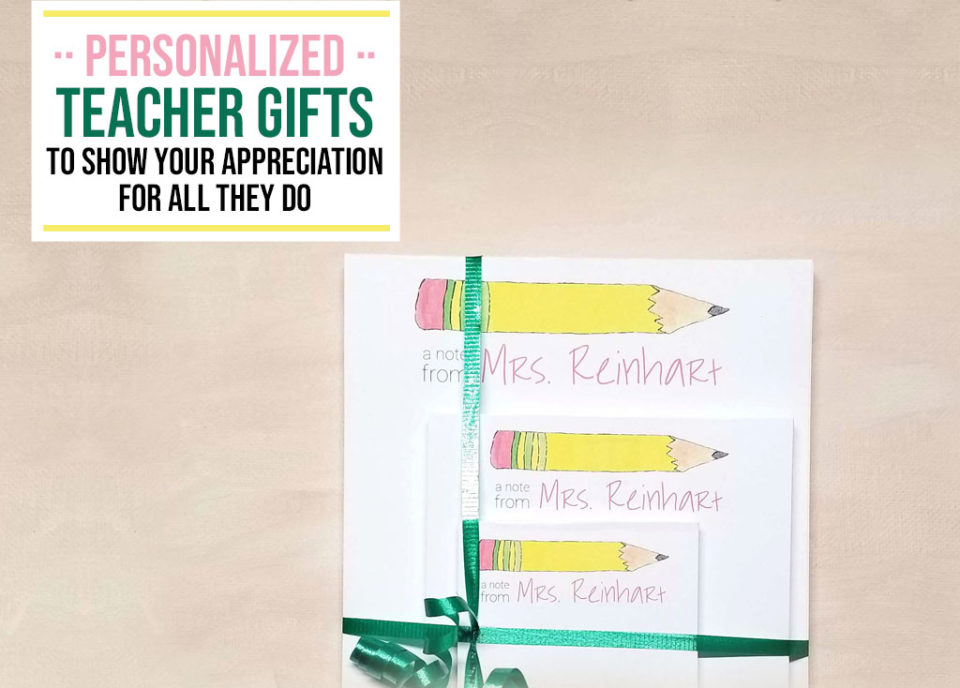 Personalized Teacher Gifts 2 - Food Life Design