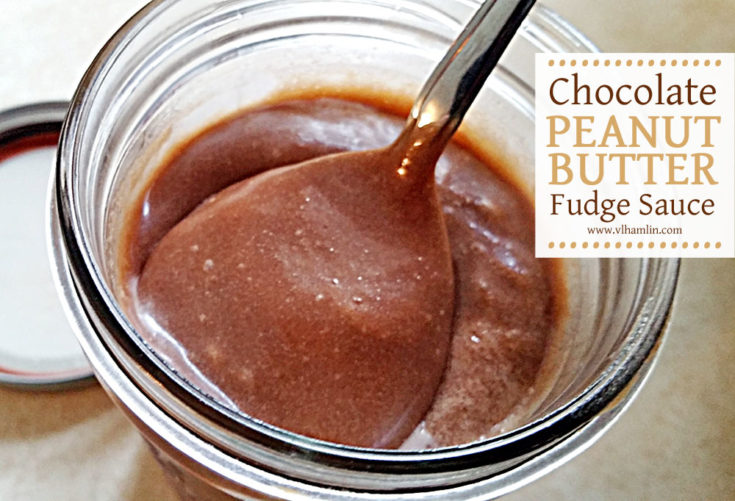 Chocolate Peanut Butter Fudge Sauce