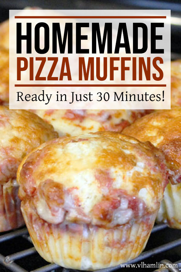 Homemade Pizza Muffins: Ready in Just 30 Minutes!   Food Life Design