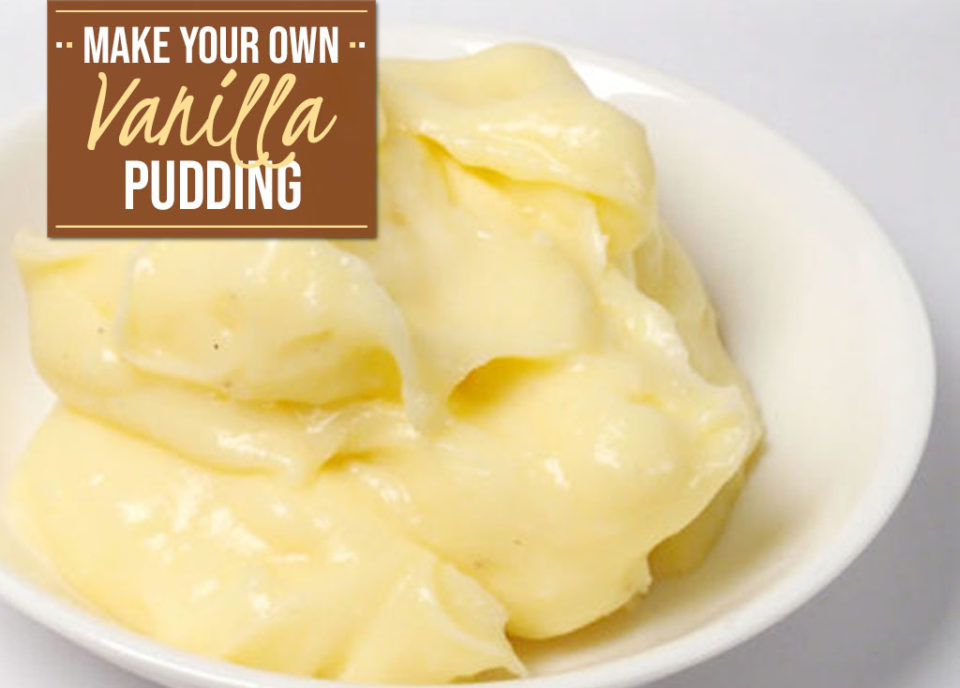 Homemade Vanilla Pudding Without Cornstarch - Food Life Design