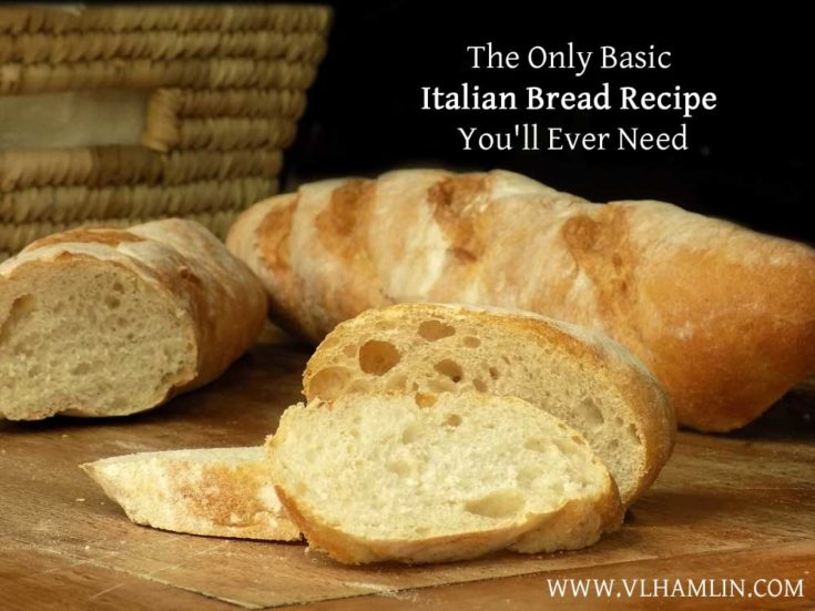 The Only Basic Italian Bread Recipe You'll Ever Need