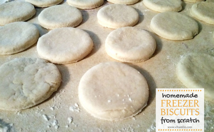 Homemade Freezer Biscuits 1