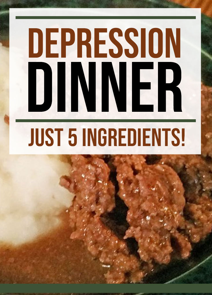 Depression Dinner Recipe - Food Life Design