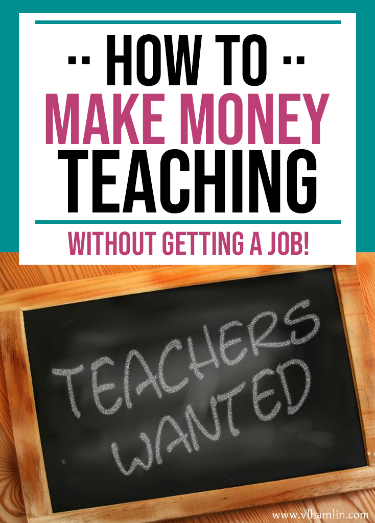How to Make Money Teaching WITHOUT Getting a Job! | Food Life Design