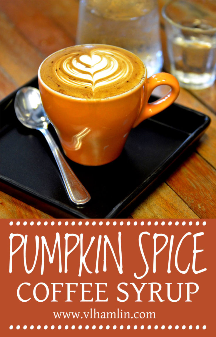 Pumpkin Spice Coffee Syrup 3