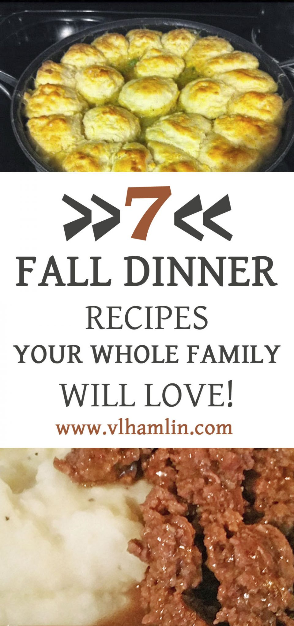7 Fall Dinner Recipes Your Whole Family Will Love