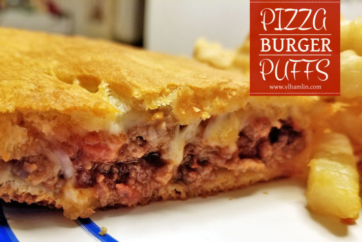 Pizza Burger Puffs
