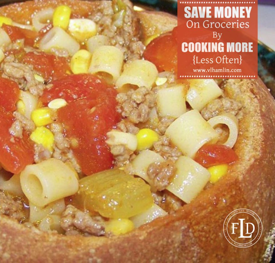 Save Money on Groceries by Cooking More Less Often 2