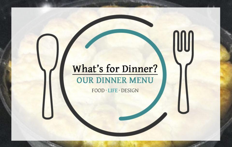 DINNER MENU 9-17-18