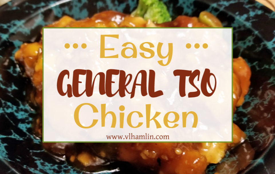 Easy General Tso Chicken
