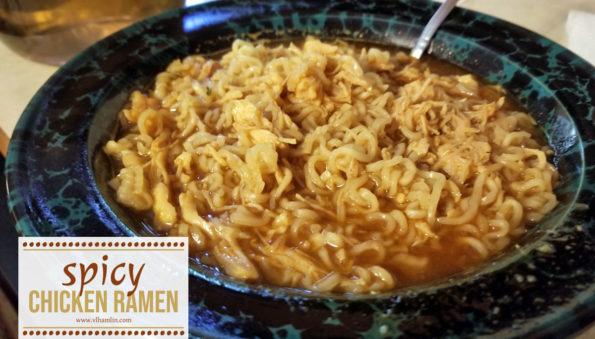 Spicy Chicken Ramen | Food Life Design
