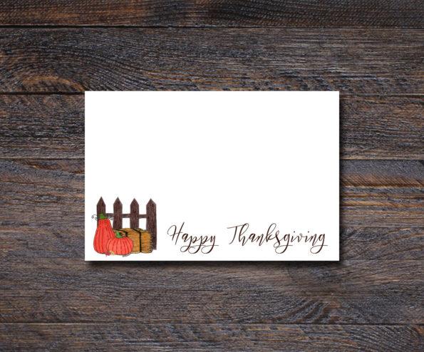 Pumpkin Patch - Thanksgiving Place Cards