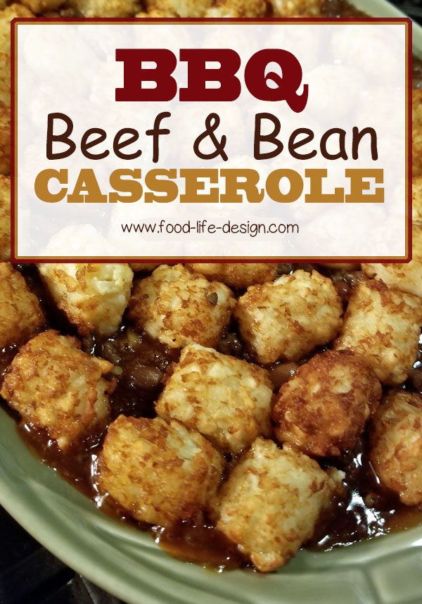 BBQ Beef and Bean Casserole